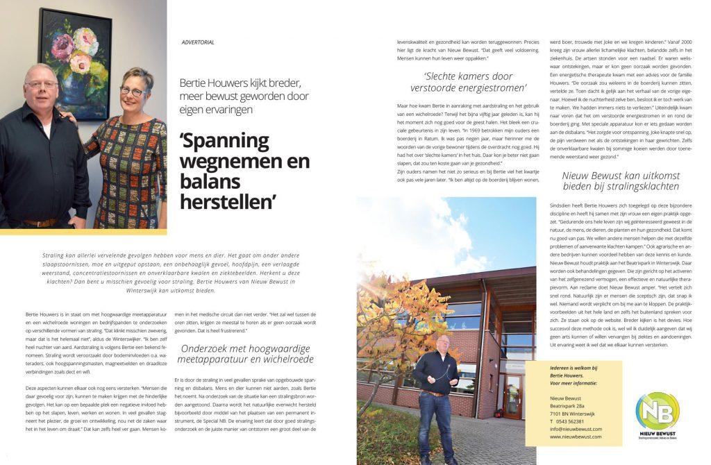 Artikel in Mijn Magazine over Nieuw Bewust November 2018